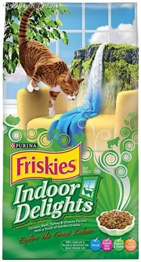 מזון לחתול בוגר פריסקיס מעדני הבית 14.4 ק''ג Friskies