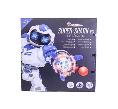 רובוט ענק - מנגן, מאיר, רוקד ומסתובב Spark toys - משלוח חינם - תמונה 2