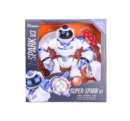 רובוט ענק - מנגן, מאיר, רוקד ומסתובב Spark toys