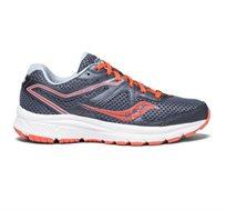 נעלי ריצה לנשים Saucony דגם COHESION 11 - אפור/כתום