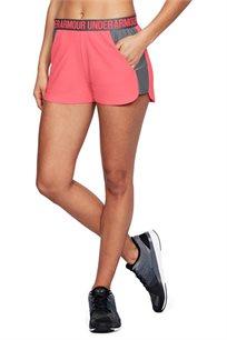 מכנסי אימון לאישה UNDER ARMOUR עם חגורה אלסטית והדפס דגם 1292231 - צבע לבחירה