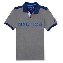 Nautica / נאוטיקה חולצה (16-2 שנים) פולו - אפור