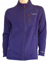 מעיל סרוג דגם FOREST, מחמם ואלגנטי בצבע כחול או אפור מבית Joseph Kauffman!!