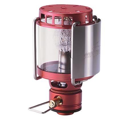 מנורת גז קומפקטית וקלת משקל לתאורה בשטח דגם firefly