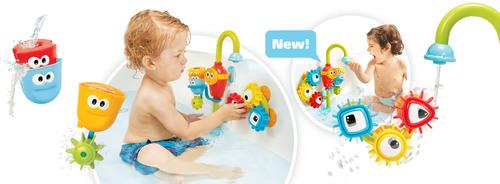 צעצוע אמבט ברז ללא הפסקה דלוקס - משלוח חינם - תמונה 3