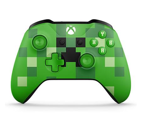 שלט Xbox אלחוטי מהדורת מיינקראפט MINECRAFT CREEPER