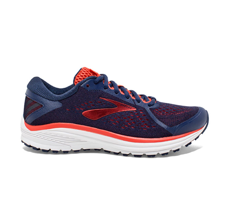 נעלי ריצה BROOKS ADURO 6 לנשים - כחול ואדום