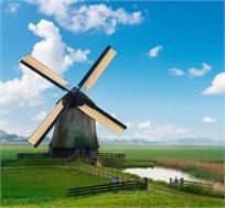 חבילת נופש בהולנד ל-6-7 לילות בכפר נופש כולל רכב גם בפסח החל מכ-€539*