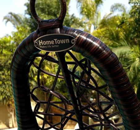 כורסת ערסל מראטן עם כריות לבית למרפסת ולחצר HomeTown  - תמונה 3
