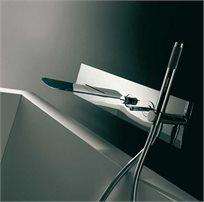 מערכת קיר לאמבטיה-כרום - בנדיני