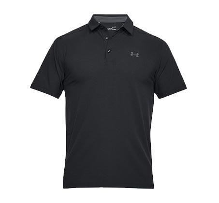 חולצת פולו קצרה Under Armour - שחור
