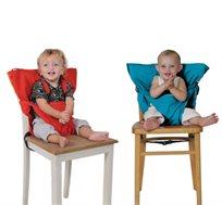 כיסא אוכל נייד לתינוק הניתן לנשיאה בתיק לכל מקום, בצבעים לבחירה - משלוח חינם!