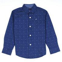 NAUTICA / נאוטיקה (20-5 שנים) חולצה פסים עם דוגמה