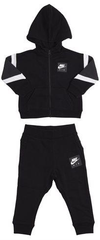 Nike ילדים קטנים // Air Track Suit Black