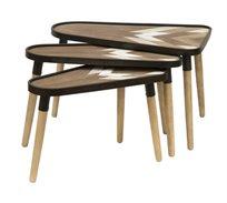 שולחן צד סלוני דגם חץ בגדלים לבחירה U DESIGN