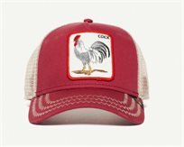 כובע מצחייה גורין - Goorin Rooster Red