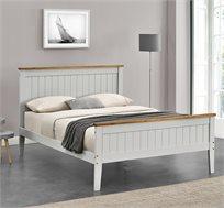 מיטה זוגית מעץ אורן מלא HOME DECOR דגם ASHLY