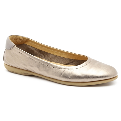 Darkwood - נעלי סירה מעור בעיצוב ספורט-אלגנט בצבע ברונזה