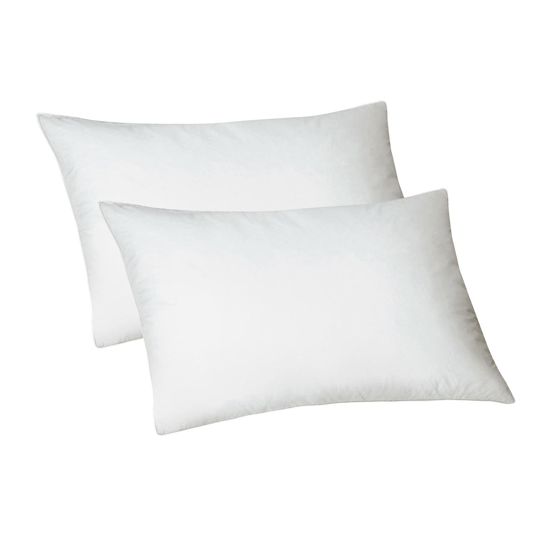 זוג כריות עם סיבי KOMFORT לשינה נוחה