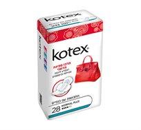 מארז 6 חבילות תחבושות של קוטקס Kotex לספיגה מהירה - משלוח חינם