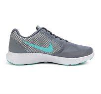 נעלי ריצה לאישה NIKE דגם 819303-018 Revolution 3 בצבע אפור