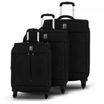 Delsey סט 3 מזוודות קלות משקל Flight