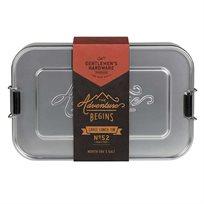 קופסת אוכל אלומיניום Lunch Box Large