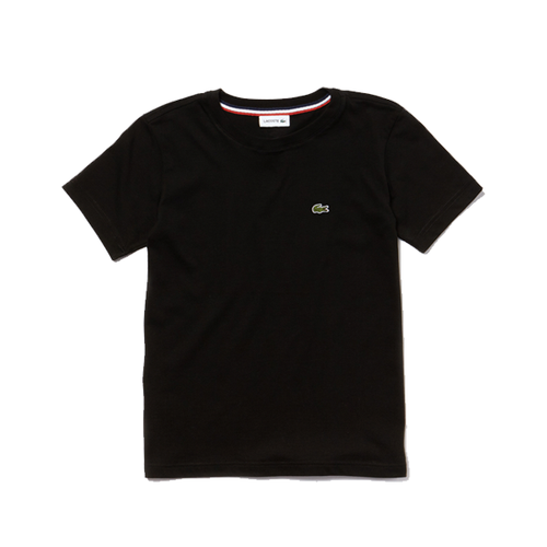 Lacoste / לקוסט טישרט (2-16 שנים) - שחור לוגו בצד