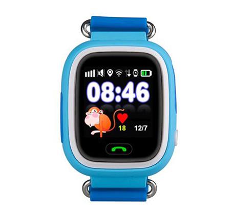 שעון חכם לילדים עם פונקציות של טלפון ו-GPS דגם קולור