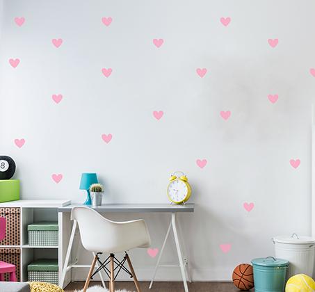 מגוון מדבקות קיר מויניל בדוגמאות וצבעים שונים לחדרי ילדים ונוער - תמונה 5