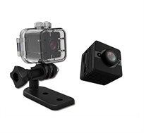 מצלמת ריגול וספורט זעירה FULL HD 1080P SPY CAM MICRO CAM DV עמידה במים דגם MAT-SQ12