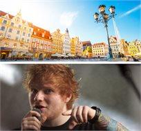 """חבילת נופש בורשה ל-4 לילות כולל טיסות, מלון ע""""ב א.בוקר וכרטיס להופעה של Ed Sheeran רק בכ-€689* לאדם!"""