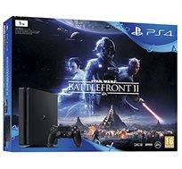 קונסולה Playstation 4 בנפח 1TB כולל Star Wars Battlefront II