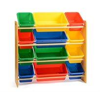 ארגונית צעצועים חזקה 4 קומות לחדרי ילדים