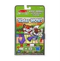 חוברת טוש המים חיות משוגעות - Melissa & Doug
