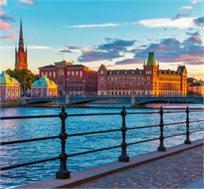 חבילת טוס וסע בשטוקהולם ל-5-7 לילות החל מכ-$373*