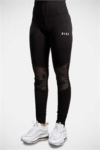 טייץ רשת בגזרה גבוהה Nike לנשים בצבע שחור