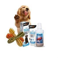ערכת בריאות השיניים לכלב במבצע