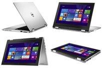 """נייד קל משקל  Dell מסך מגע 11.6"""" שלוש שנים אחריות מעבד Quad Core, זיכרון 4GB, דיסק 500GB ו-Win8"""
