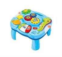 שולחן פעילות לפעוטות - שולחן מנגן וצבעוני