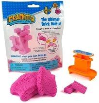 ערכה ליצירת קוביות לגו Lego מבצק קינטי Mad Mattr - ורוד