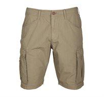 מכנסי ברמודה קצרים עם כיסים Napapijri לגברים בצבע חום