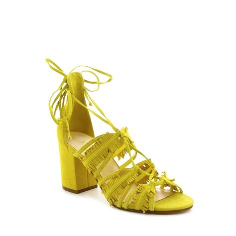 Genie סנדלי גדילים צהובים