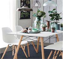 """פינת אוכל דגם """"לונדון"""" כוללת שולחן וארבעה כסאות HOMAX"""