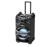 מערכת שמע קריוקי מקצועית ניידת עם Bluetooth דגם Panasonic SC-CMAX5