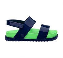 סנדלים שטוחים Melissa Mini Cosmic לילדות בצבע כחול/ירוק