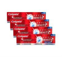 """אין מחיר כזה! רק 17.25 ש""""ח למשחת שיניים Colgate Optic White! מארז של 4 יחידות ב-₪69 בלבד - משלוח חינם!"""