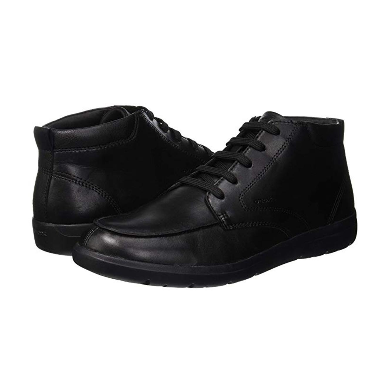נעלים גבוהות לגבר דגם GEOX U843QA - שחור