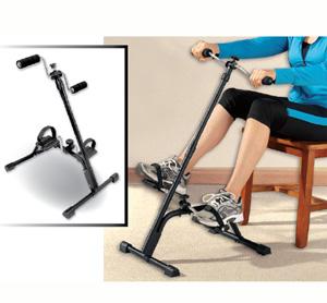 אופני פדלים עם רמות קושי שונות, פדלים עם נעילת בטיחות, עמיד וקל לאחסון