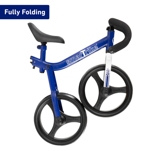 אופני איזון מתקפלים עם כיסא וכידון מתכווננים - כחול - תמונה 3